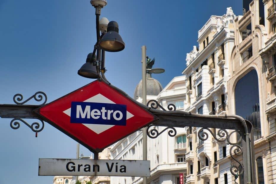 horario metro madrid