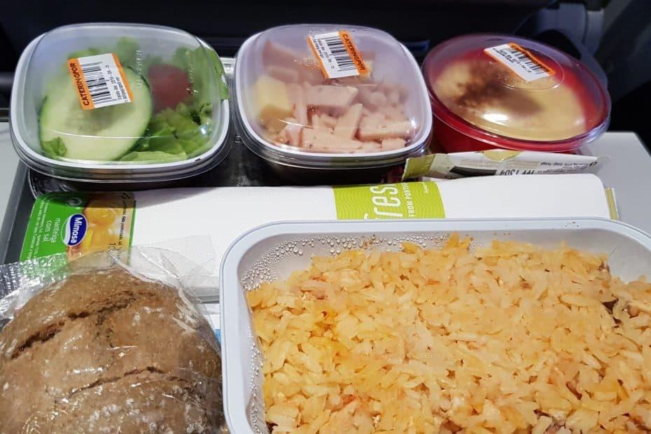 Precio comida de TAP AIR PORTUGAL