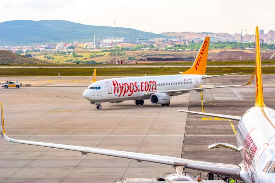 precio comida pegasus airlines