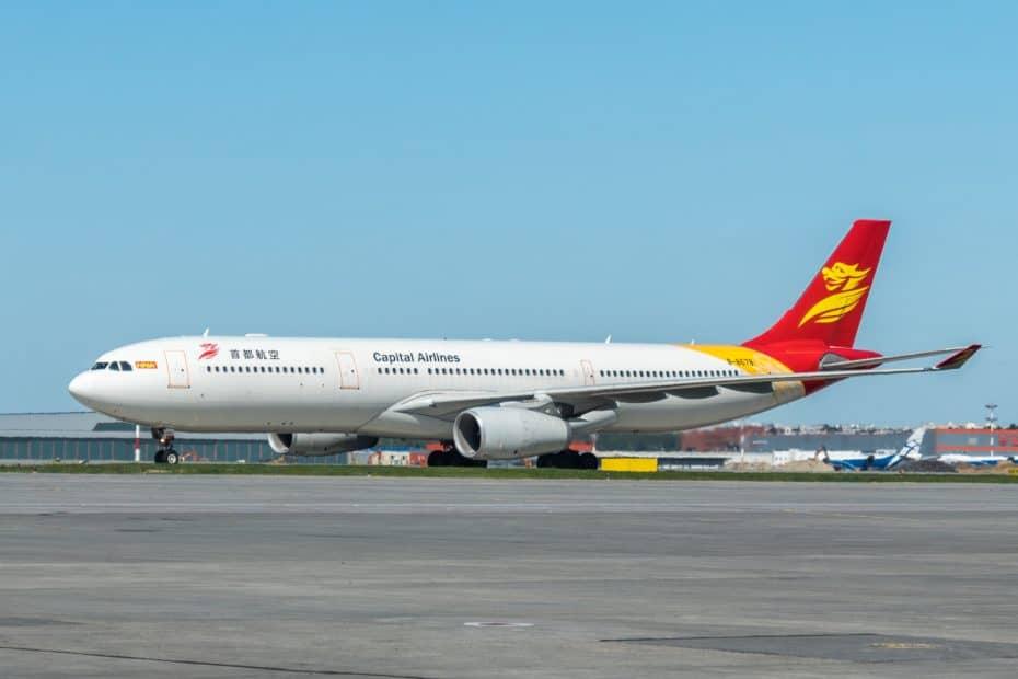 Atención al cliente de Beijing Capital Airlines
