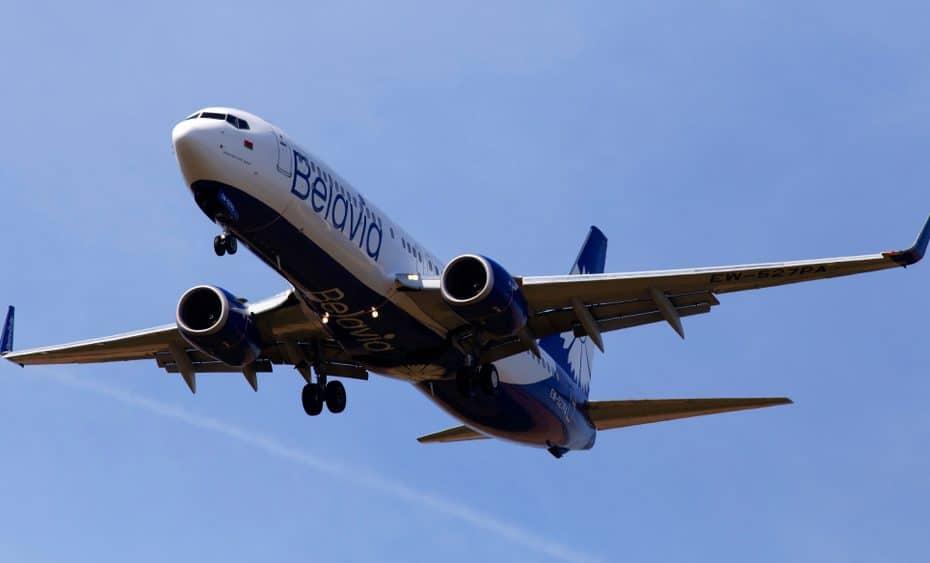 Atención al cliente de Belavian Airlines