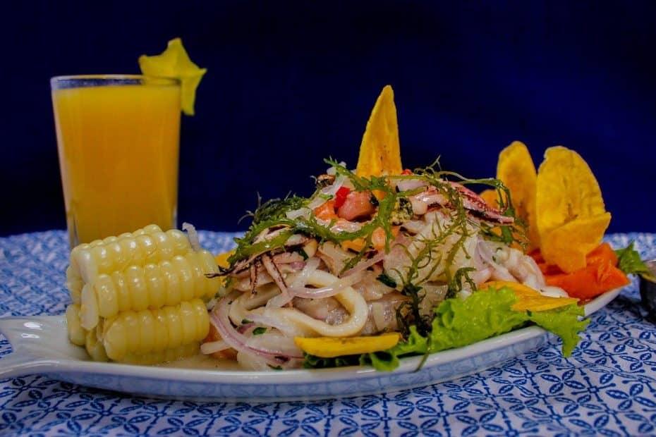 platos tipicos de peru
