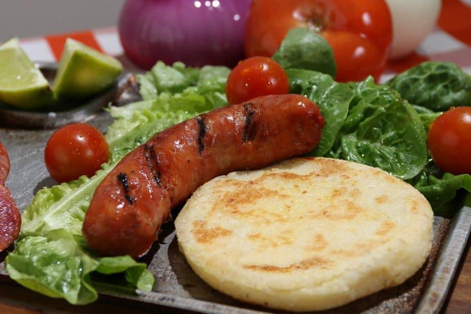 receta de arepas colombianas