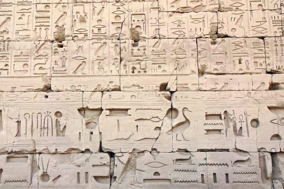como traducir y escribir jeroglificos