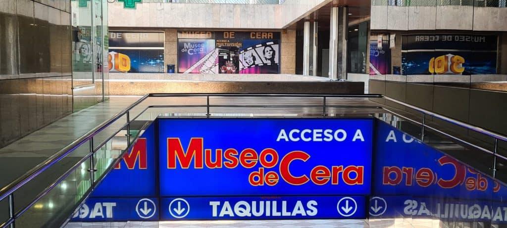 Entrada Museo de Cera de Madrid