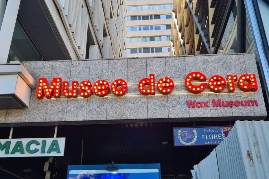 Precio entrada Museo de Cera de Madrid