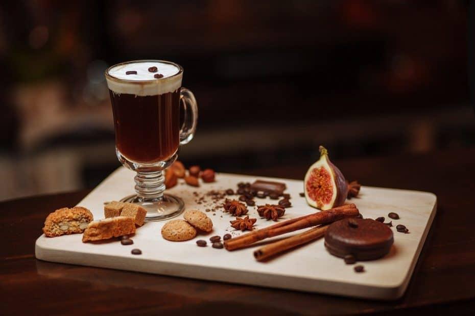 Receta de Café Irlandés o Irish Coffee