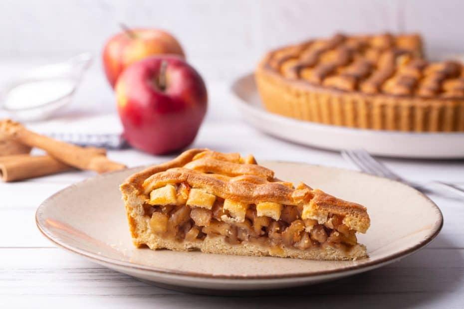 Receta de Apple Pie o tarta de manzana irlandesa