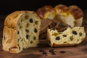 panettone tipico de italia
