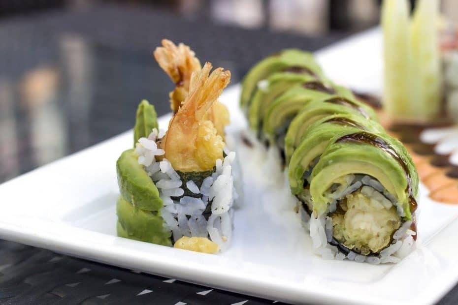 Menú del Restaurante Amazónico en Madrid con sushi