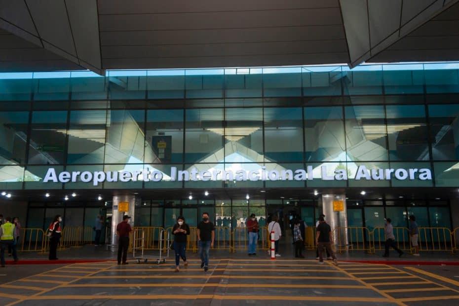 Teléfono Aeropuerto Internacional La Aurora