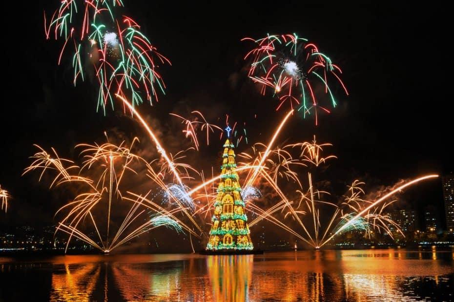 Los Árboles de Navidad más famosos del mundo