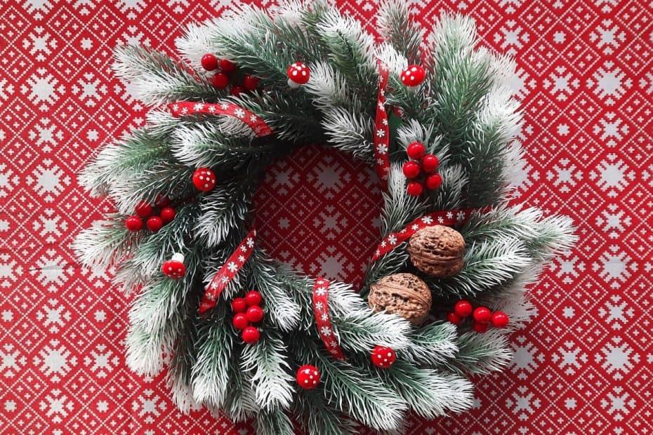 ideas para decorar mesa en navidad