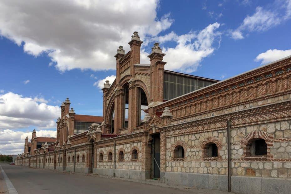pista de hielo de Matadero en Madrid