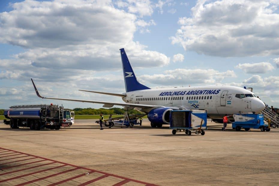 Precio facturar maleta con Aerolíneas Argentinas