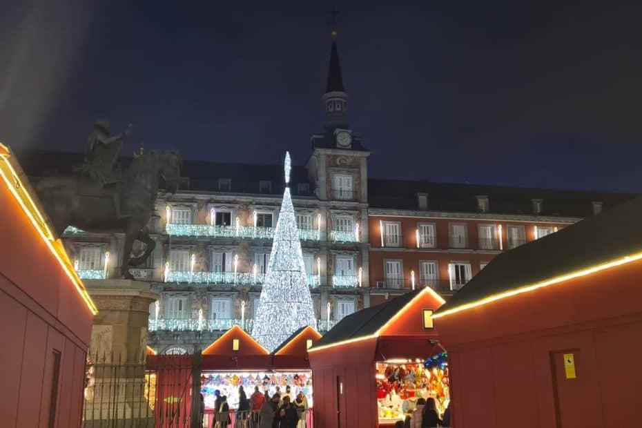 Cómo visitar el Mercado de Navidad de la Plaza Mayor en 2020