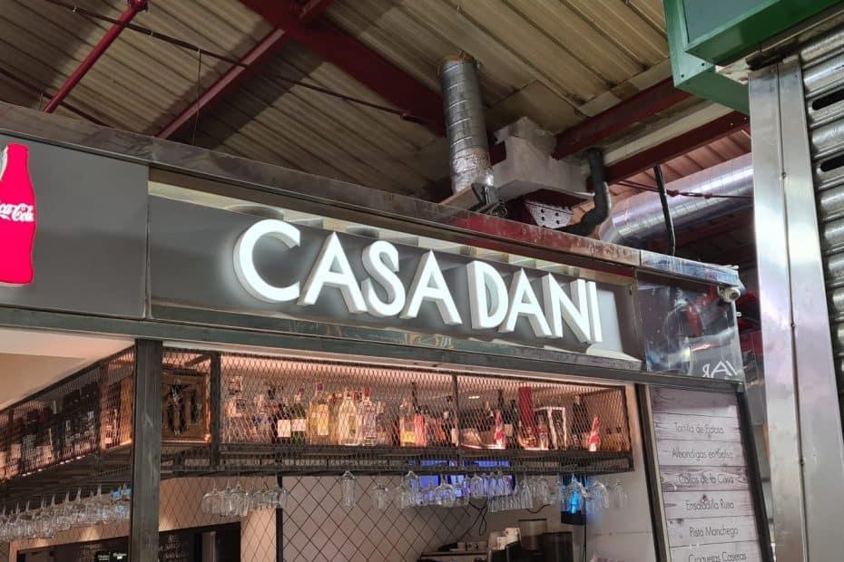 Precio Menú CASA DANI en Madrid