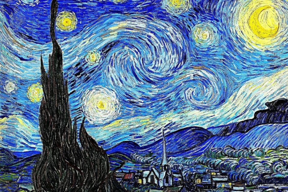 significado cuadro la noche estrellada de van gogh