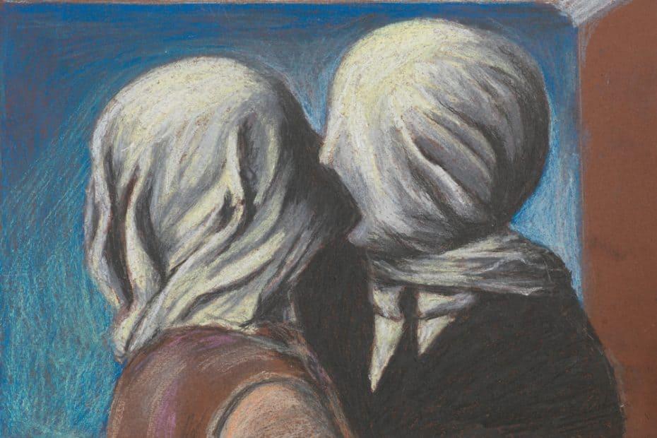 Significado de Los amantes de René Magritte