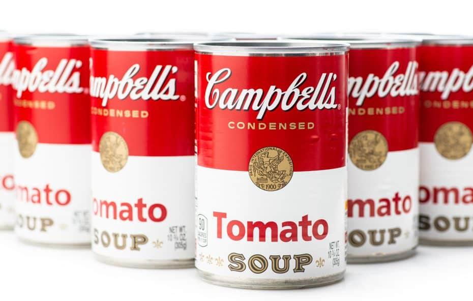 Latas de Sopa Campbell's' de Andy Warhol