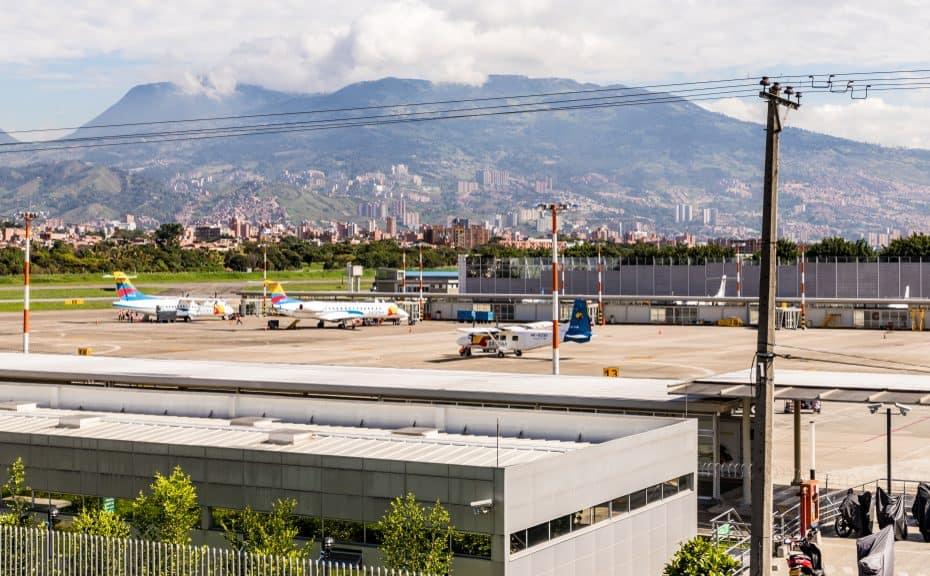 Teléfono Aeropuerto Enrique Olaya Herrera de Medellín