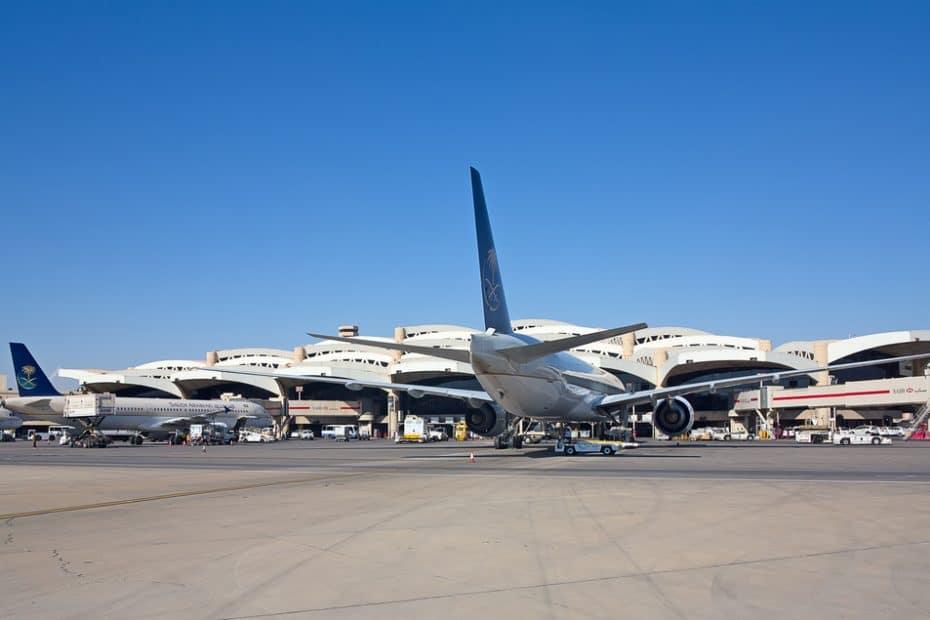 Teléfono del Aeropuerto de Riad