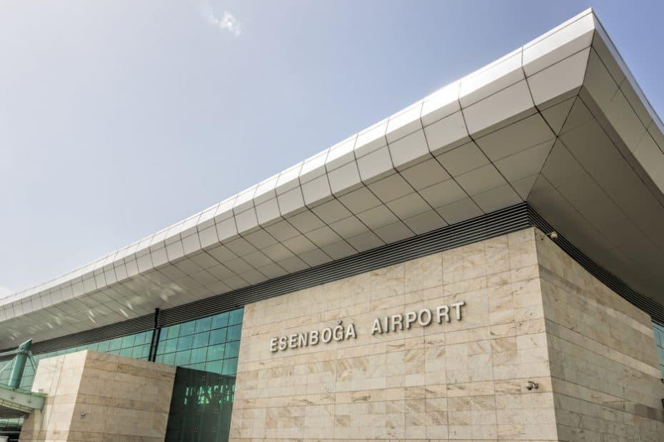 Teléfono Aeropuerto de Ankara Esenboga