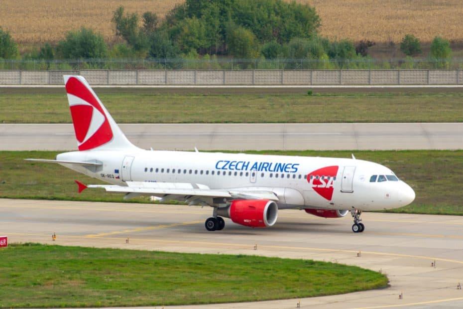 Política de equipaje de mano de Czech Airlines