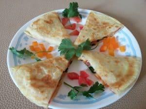 quesadilla tipica de mexico