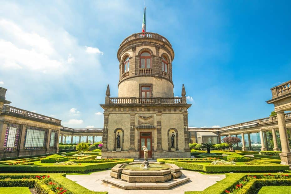 Castillo de Chapultepec en México
