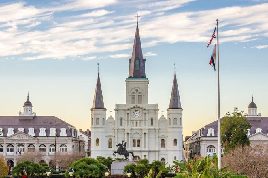 Catedral de San Luis de Nueva Orleans