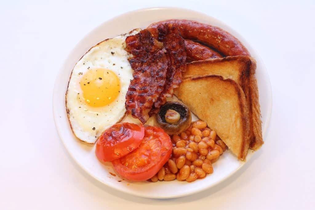 desayuno ingles tipico de inglaterra