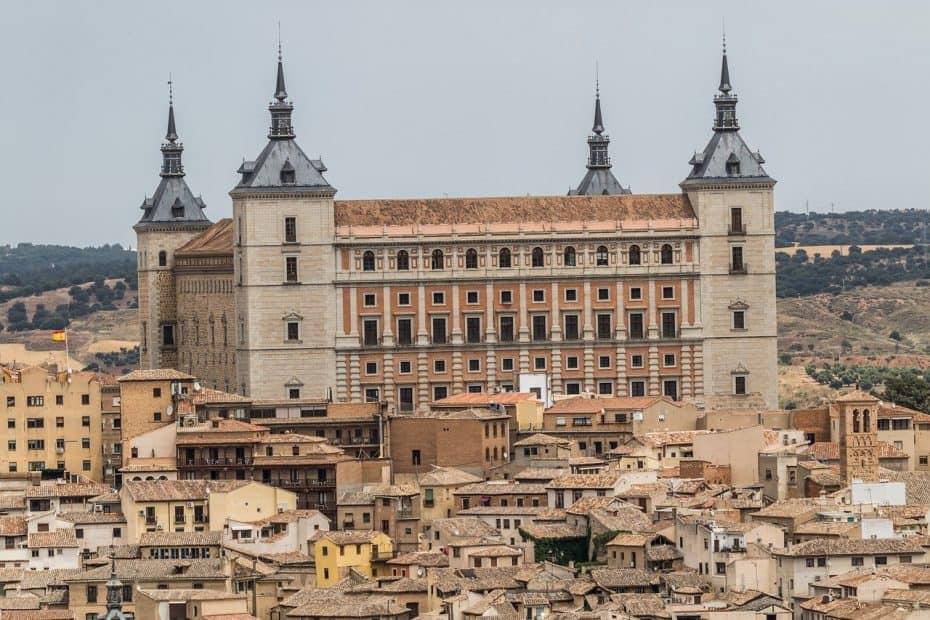 Alcázar de Toledo, precio de las entradas