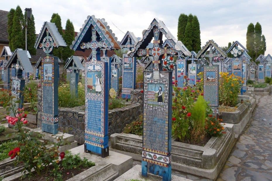 precio entrada cementerio alegre de sapanta de rumania
