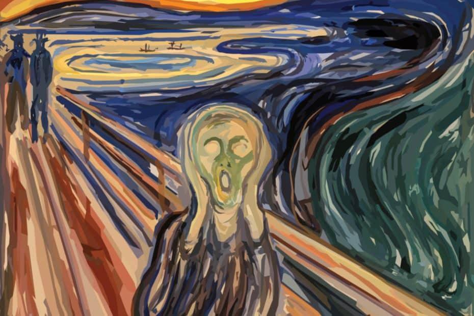 Significado de El grito de Edvard Munch