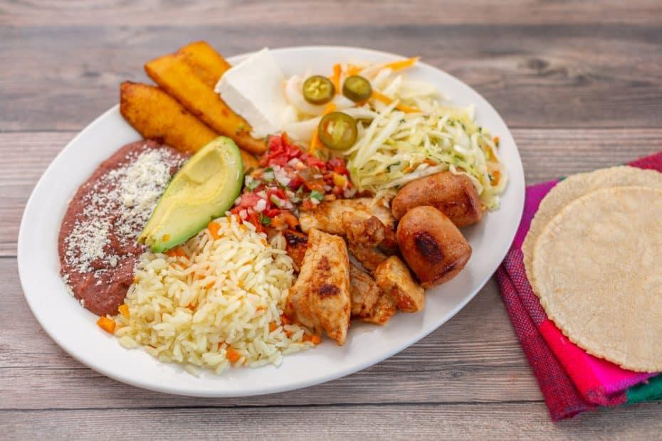 Platos típicos de Honduras