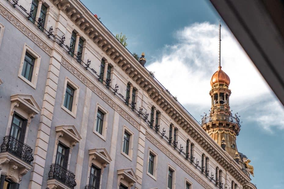 Restaurante Dani Brasserie en el hotel 4 seasons de Madrid
