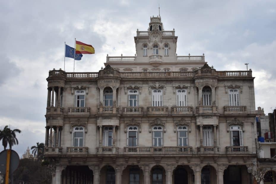 Teléfono de la Embajada de España en Cuba