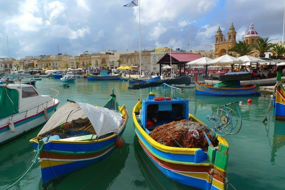 viajar a malta en 2021 con 200 euros para turistas