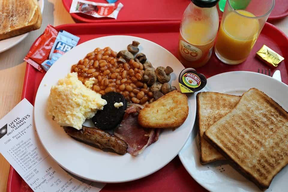 que se desayuna en otros paises del mundo