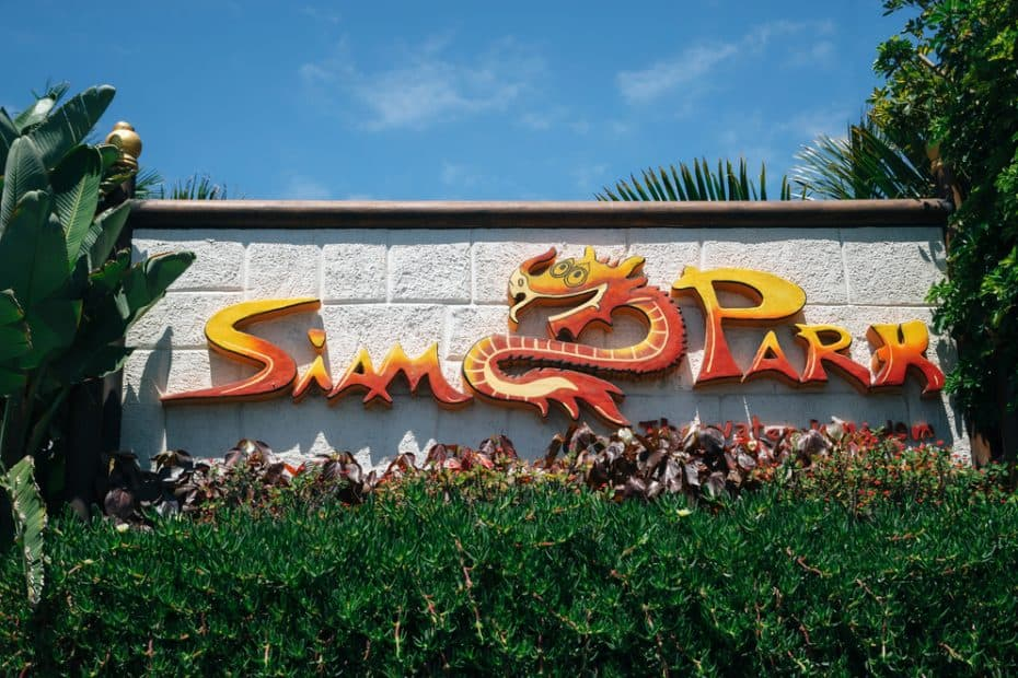 Precio de la comida en Siam Park en Tenerife