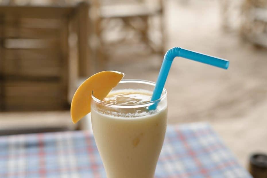 Receta de smoothie de mango y piña