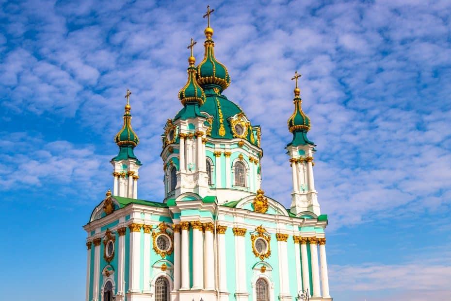 Precio Entradas Iglesia de San Andrés de Kiev