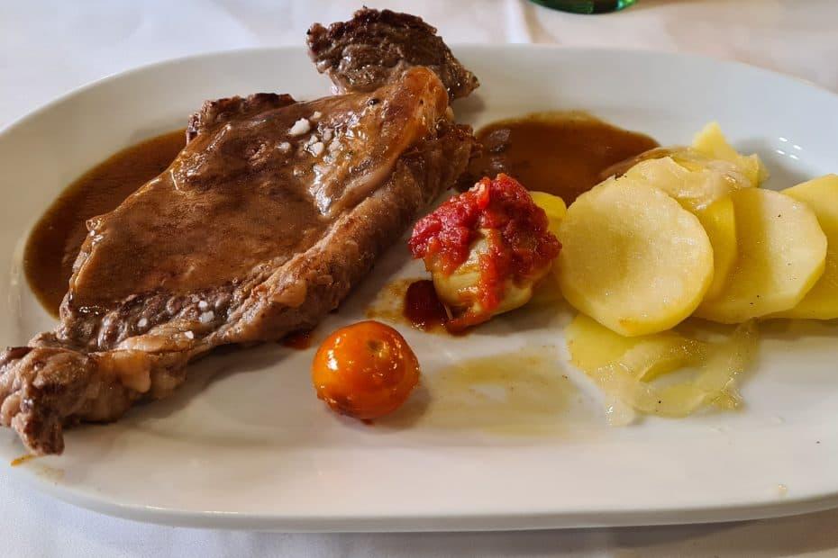 Precio Menú Restaurante Parra de Manzanares el Real