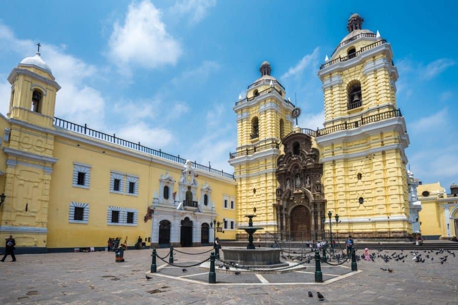 Monasterio de San Francisco en Lima