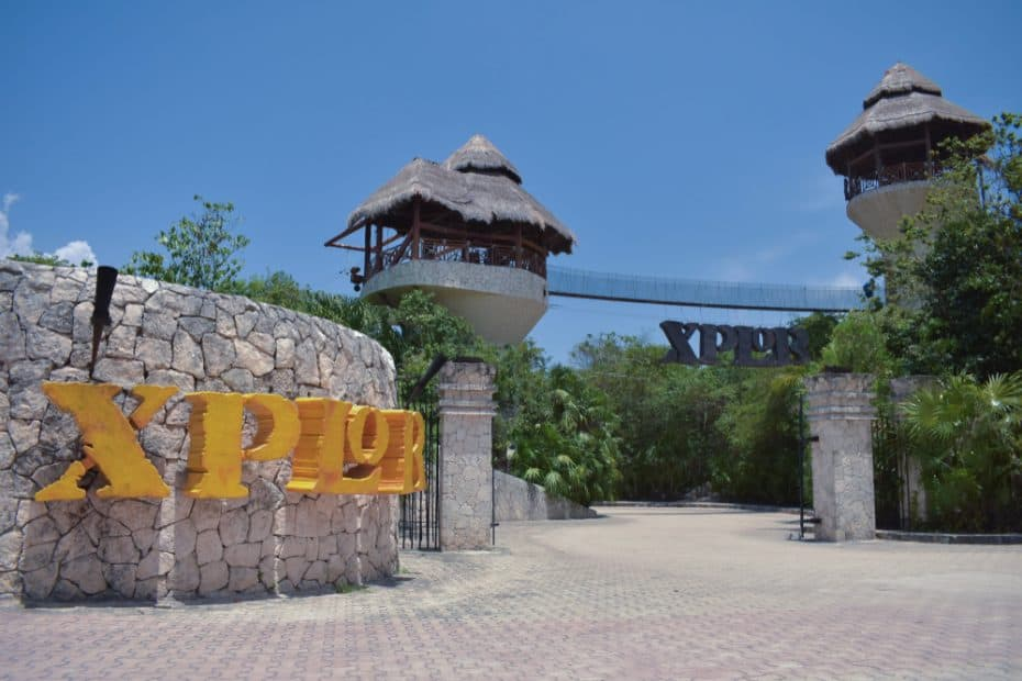 Xplor Park, entrada México