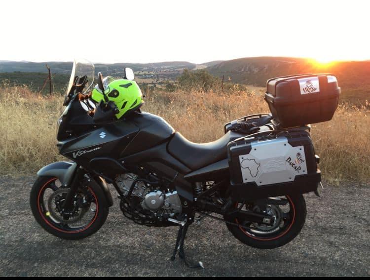Ruta en moto por el Parque Nacional de Cabañeros